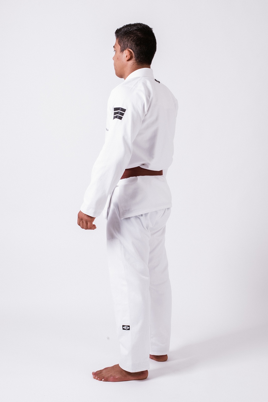 Black Label Jiu Jitsu Gi (Free White Belt) - White