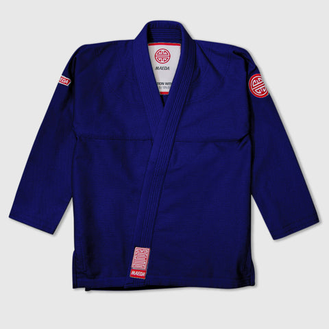 Maeda Red Label 2.0 Kid's Jiu Jitsu Gi ( Free White Belt ) - Navy