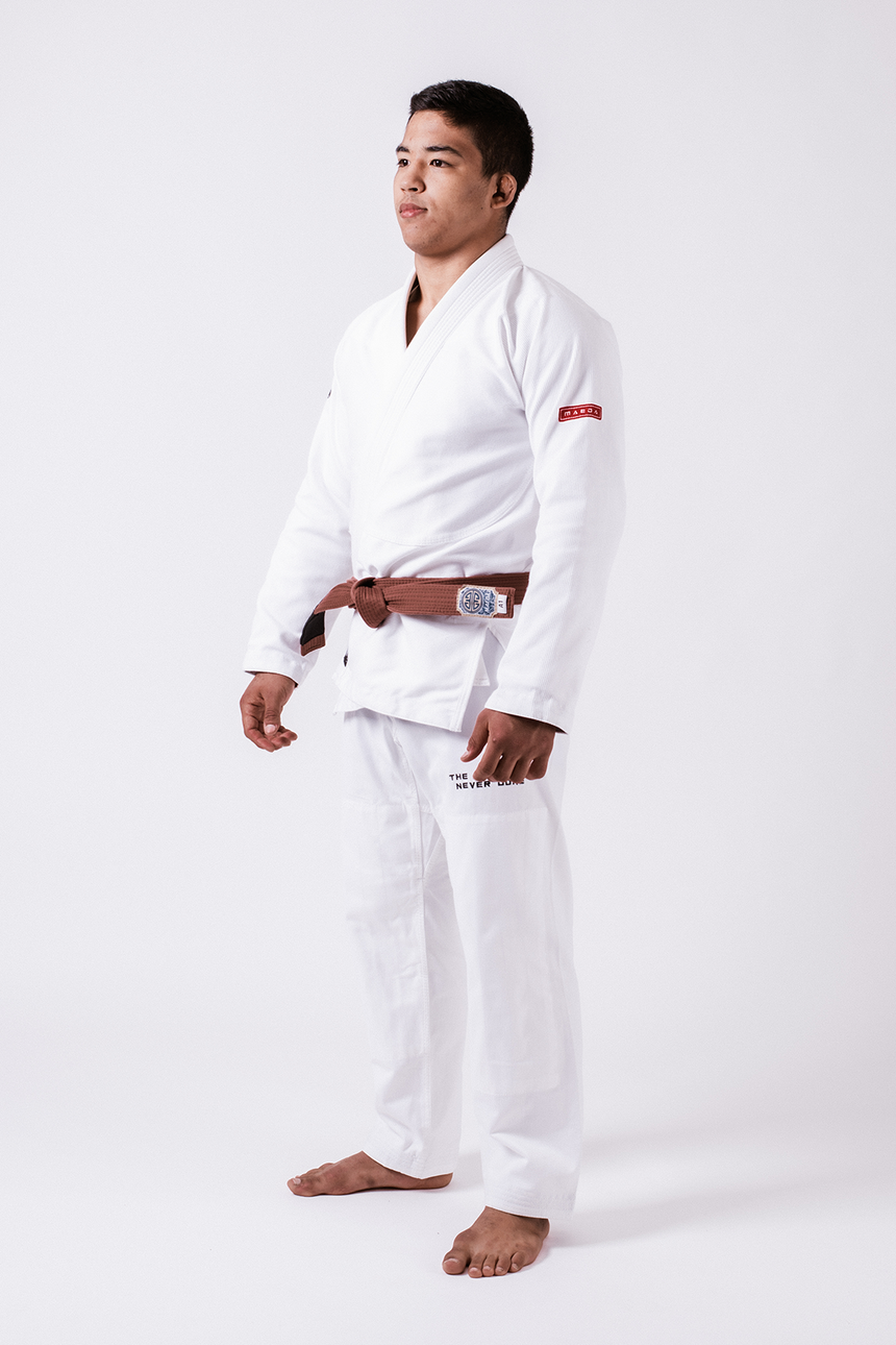 Red Label 3.0 Jiu Jitsu Gi (Free White Belt) - White