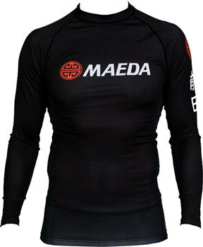 Kanji Long Sleeve Rash Guard