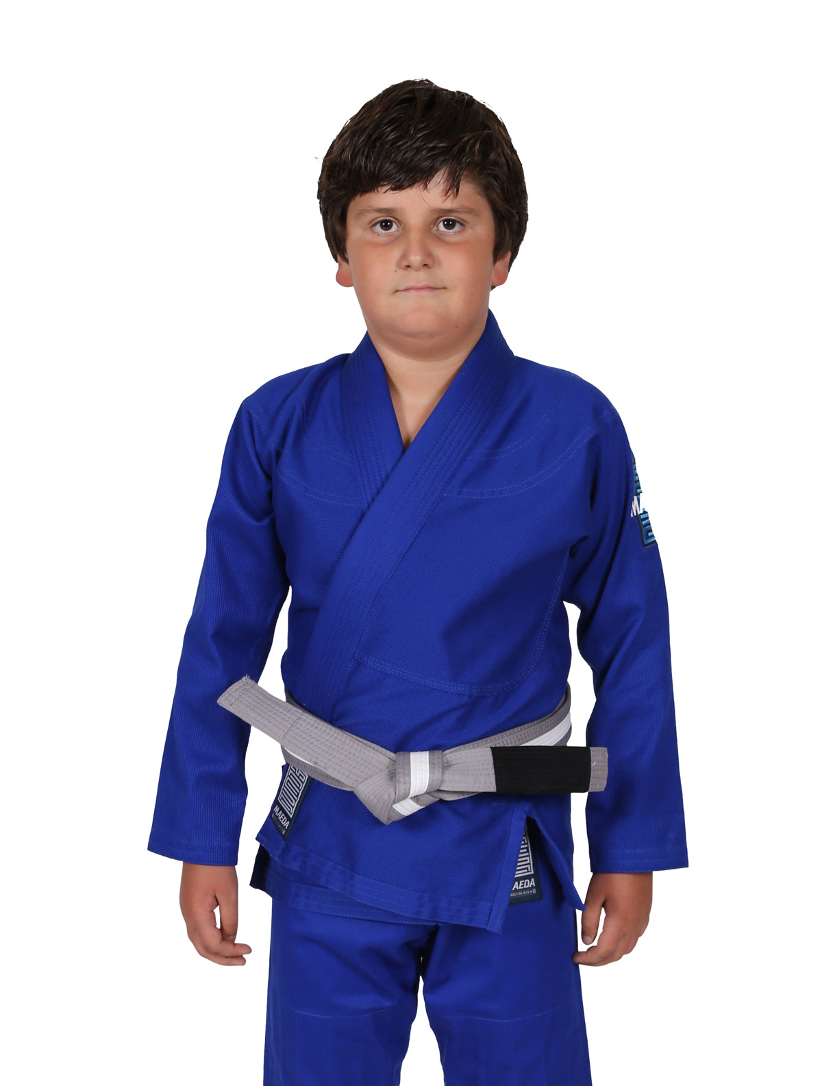 Children/'s Karate suit White Black Red Blue Free White Belt Kids karate suit
