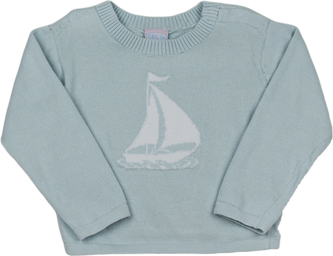 Lightweight Sweater - Sailboat | Blue
