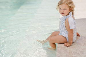 Peony Frilled Swimsuit | pre-order
