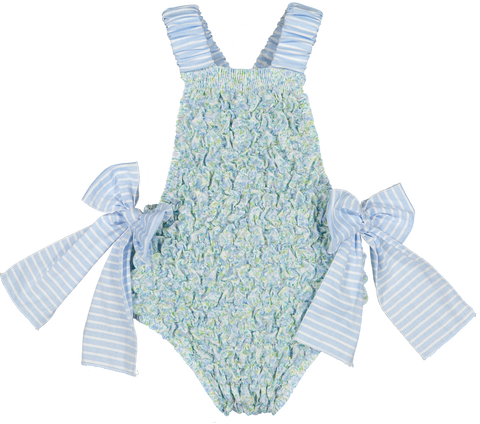 Morning Glory Frilled Swimsuit | pre-order