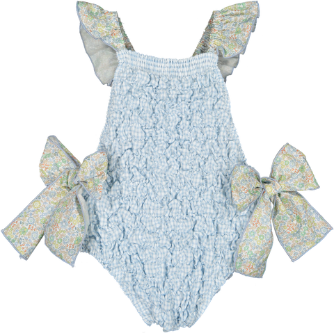 Marigold Frilled Swimsuit | pre-order
