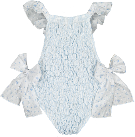 Periwinkle Frilled Swimsuit | pre-order