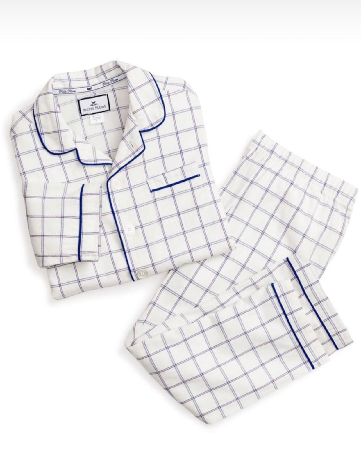 Tattersall Pajama Set - 2,5,7,10