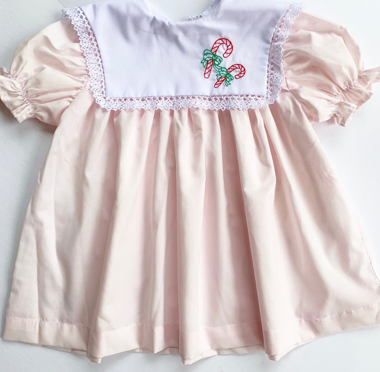 Vintage Baby Doll Christmas Dress with Bloomers