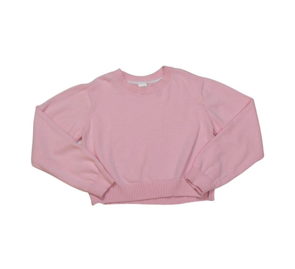 Stella Sweater - Light Pink with White Tape