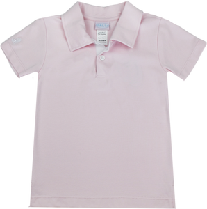Parker Polo - Pink/White