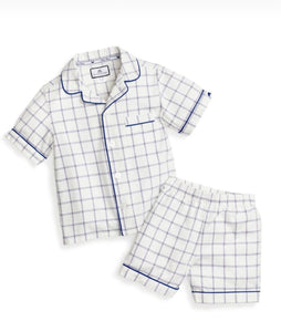 Tattersall Short Pajama Set