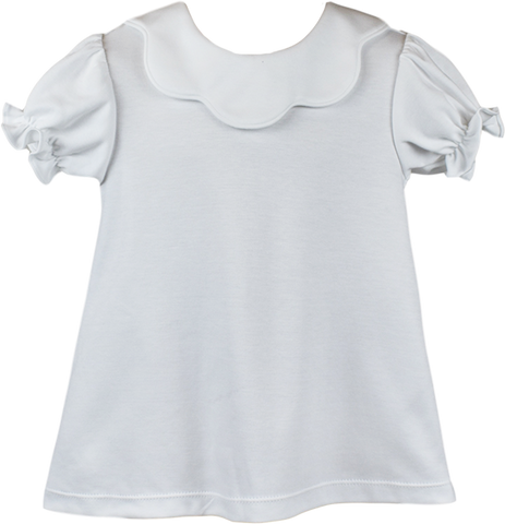 Summers Scarlett Blouse - White/White