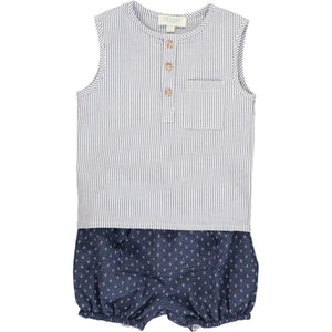 Samuel Set - Marino Stripe Blue