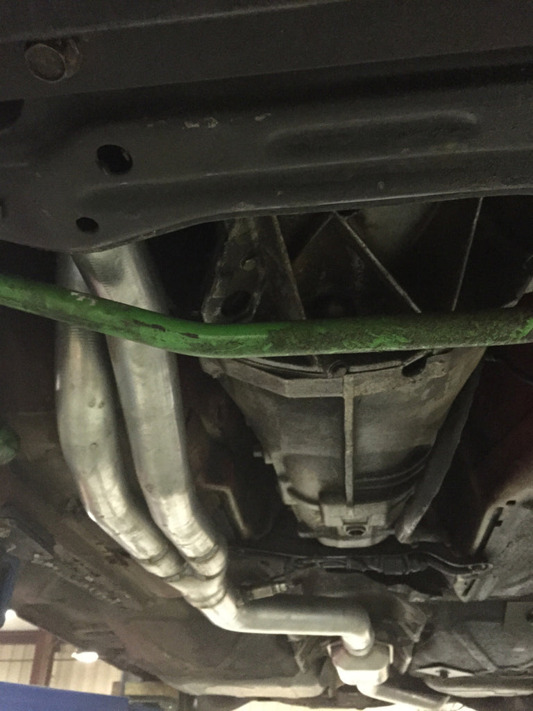 SDW e30 Exhaust system for 24v swap