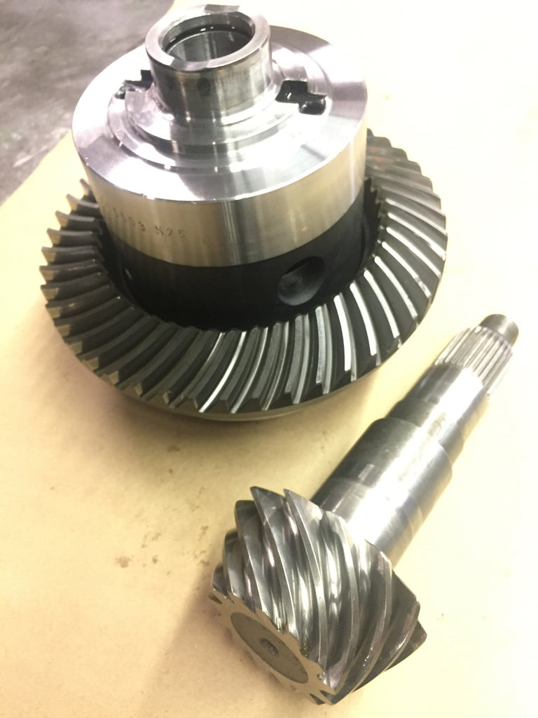 Differential rebuild service