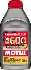 Motul RBF 600 Performance Brake Fluid, 1/2 Liter