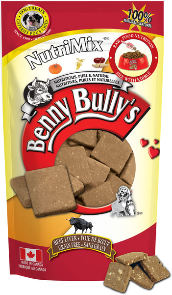 Benny Bullys NutriMix - Super Bulk - 1200 g (2.65 lbs) - Dog Treats