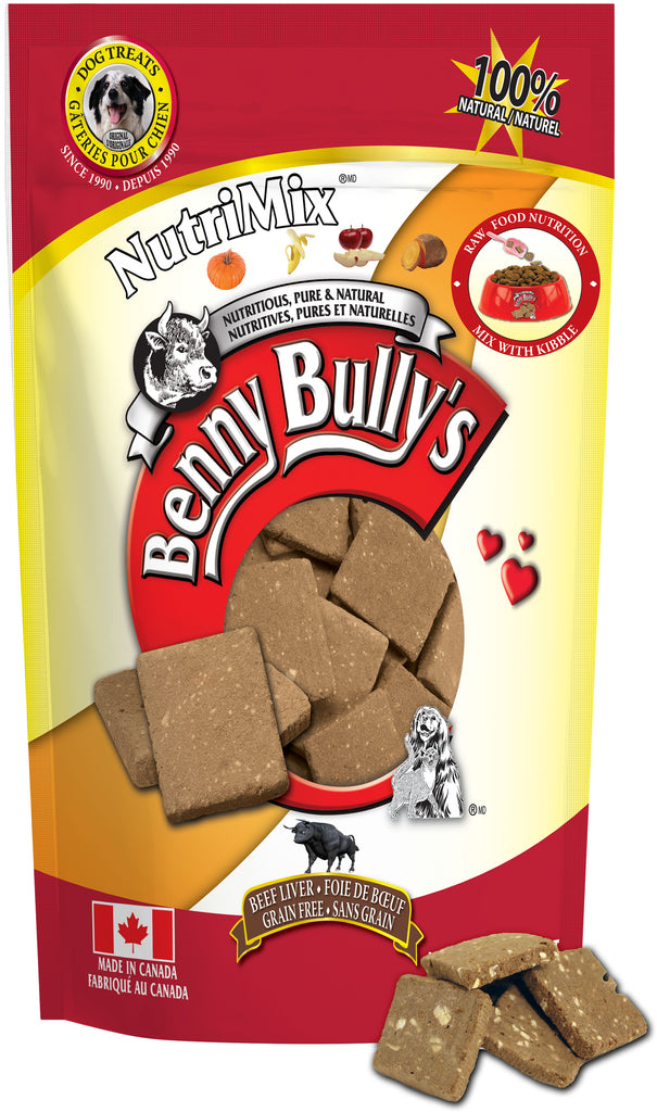 Benny Bullys NutriMix - Bulk - 400 g (14.1 oz) - Dog Treats