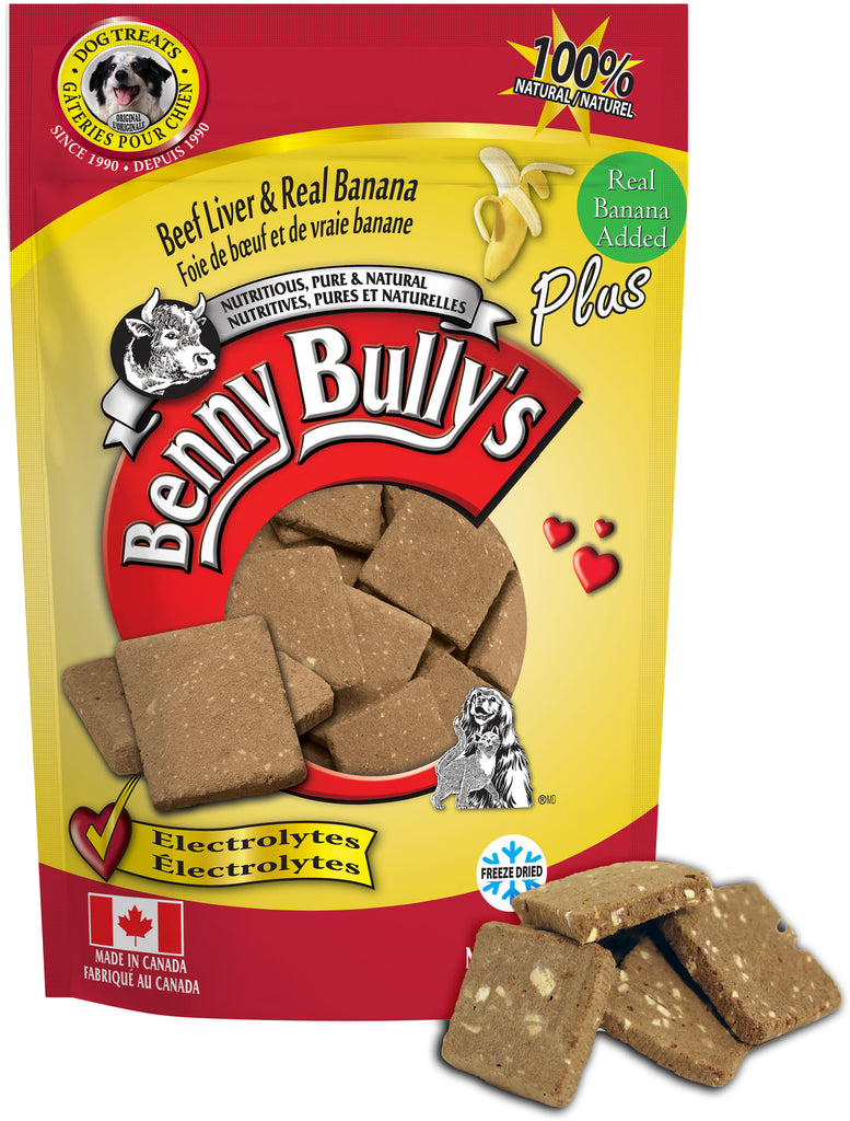 Benny Bullys Liver Plus Banana - Bulk - 200 g (7.1 oz) - Dog Treats