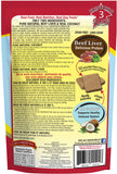 Benny Bullys Liver Plus Coconut - Medium - 58 g (2.1 oz) - Freeze Dried Beef Liver and Coconut Dog Treats