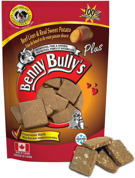 Benny Bullys Liver Plus Sweet Potato - Bulk - 200 g (7.1 oz) - Dog Treats