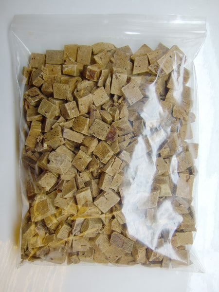 3/4 Inch Freeze Dried Beef Liver Cubes -1 lb bag