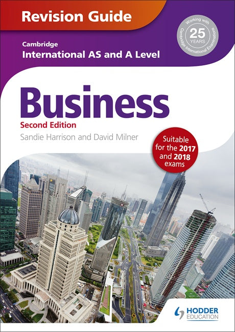 Cambridge Int AS & A Level Business Studies Revision Guide
