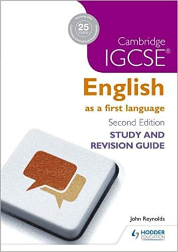Cambridge IGCSE Eng First Lang: Study and Revision Guide