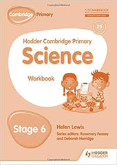 Hodder Cambridge Primary Science Workbook 6