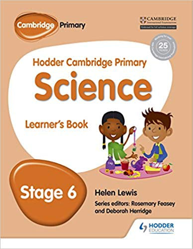 Hodder Cambridge Primary Science Learner's book 6