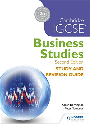 IGCSE Business Study & Revision Guide