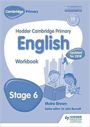 Hodder Cambridge Primary English: Work Book Stage 6