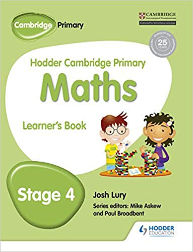 Hodder Cambridge Primary Maths Learner's Book 4