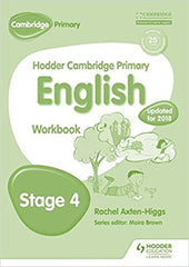 Hodder Cambridge Primary English: Work Book Stage 4