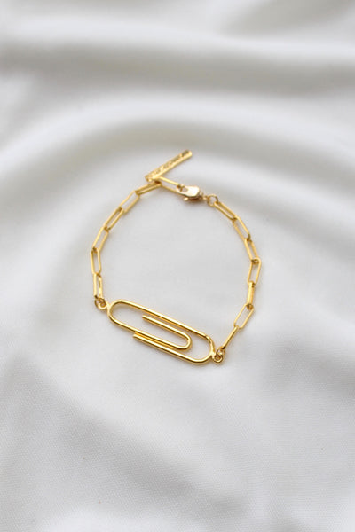 Clip and Chain Bracelet
