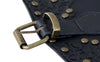 Women's Vintage Gothic Faux Leather Buckle Slimming Corset Belt