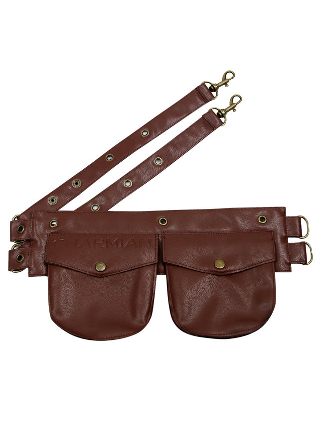 Women's Steampunk Leather Corset Pouch Belt Accessory