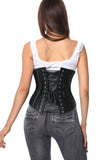 Women's 26 Steel Boned Gothic Underbust Waist Training Cincher Corset