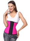 Plus Size 4 Steel Bones Latex Hourglass Underbust  Waist Trainer Corset