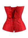 Women's Renaissance Bustier Wedding Bridal Top Lace Up Overbust Corset