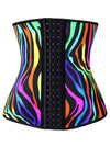 Plus Size 4 Steel Bones Latex Hourglass Waist Trainer Underbust Corset