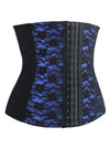 Lace Waist Training Cincher Spiral Steel Boned Body-Shaper  Corset