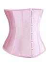 Women's Fashion Satin Waist Training Cincher Boned Underbust Corset Bustier Top