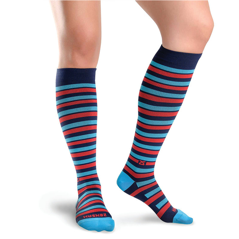 Even Stripes Compression Socks