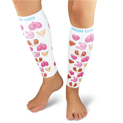 Cute Organs Compression Leg Sleeves