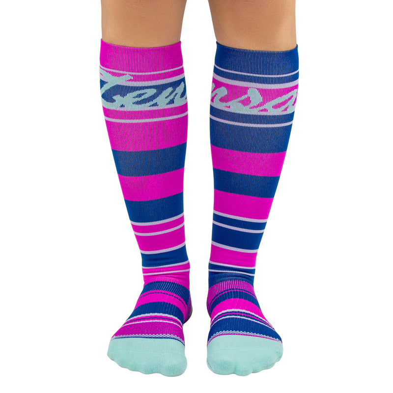 Sock of the Month Compression Socks - Baskin