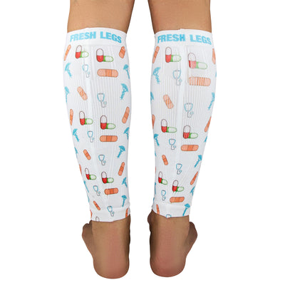 Bandages/Pills Compression Leg Sleeves