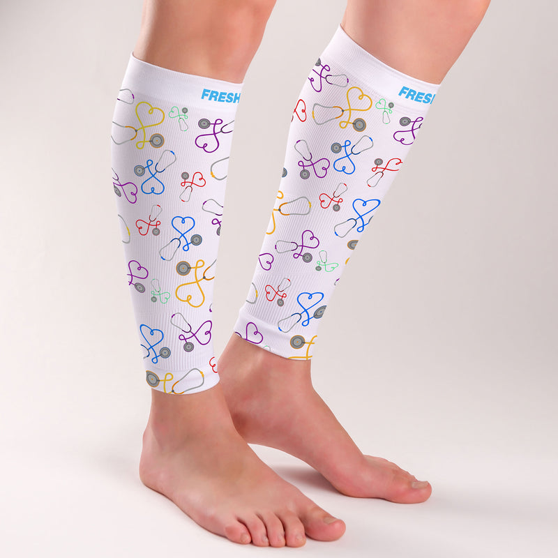 Stethoscope Compression Leg Sleeves