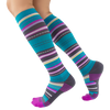 Sock of the Month Compression Socks - Sweet Stripes
