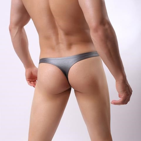Metallic Thong